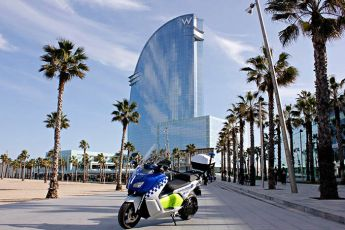 014 BMW C evolution Polizei Barcelona kl