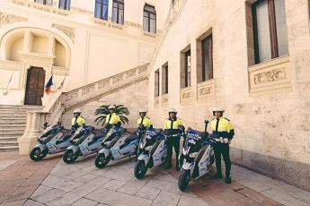 015  BMW C evolution Polizei Cagliari kl